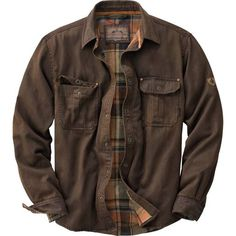 Men's Journeyman Rugged Shirt Jacket at Legendary Whitetails