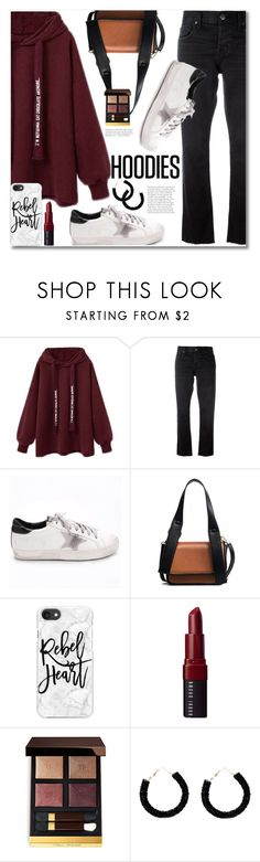 """Untitled #3929"" by svijetlana ❤ liked on Polyvore featuring Current/Elliott, Casetify, Bobbi Brown Cosmetics, Tom Ford and Hoodies"