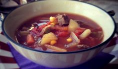 Yummiest Slow Cooker Beef Vegetable Soup