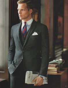 The three-piece suit is back