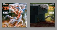 """Iconic Album Covers Reimagined To Show Their """"Dark Side"""" - Cannibal Corpse – """"Tomb Of The Mutilated"""" (1992)"""