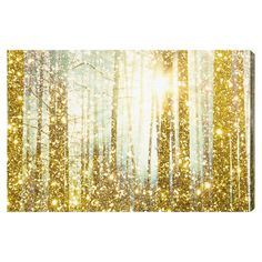 Magical Forest Canvas Print, Oliver Gal