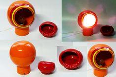 Lampada e Posacenere anni 60 ceramica (Sold)