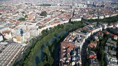 Vista de Viena, na Áustria