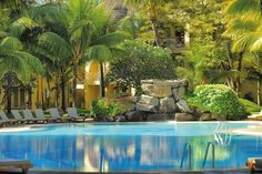 Canonnier Golf Resort & Spa is a family favourite. Great location from Grand Bay for shopping lovers. Bright Decor, Bright Rooms, Mauritius Resorts, Mauritius Travel, Glass Bottom Boat, Family Resorts, Thatched Roof, Beach Holiday, Tropical Garden