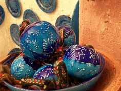 Cini balls from Cappadocia; Good Luck ceramic balls