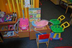 Love this Pet Store/Vet set up. Very elaborate! :Laguna Preschool Curriculum