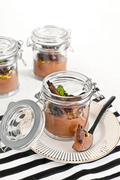 Receta mousse de chocolate vegana Vegan Sweets, Food Styling, Food Photography, Deserts, Food And Drink, Snacks, Chocolates, Ethnic Recipes, Fondant