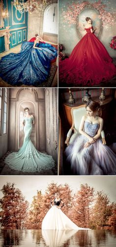 Stunning wedding dresses . #weddingdesses #cocomelody