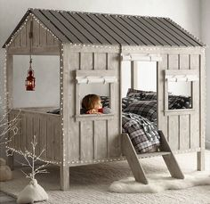 Kids' Cabin Bed - LOVE this!