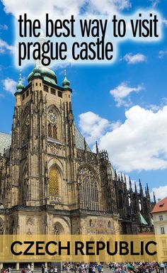One of the best things to do in Prague is visit Prague Castle. This sprawling complex in the Czech Republic is said to be the largest castle in Europe. There's lots to see at Prague Castle, including St Vitus Cathedral. Here's what you need to know before you visit.
