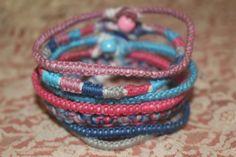 bracelet stack, friendship bracelets, handmade bracelet set, friendship jewelry