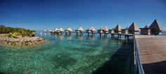 L'escapade Island beach resort- Ilot maitre- Nouvelle- Calédonie- bungalow- lagon