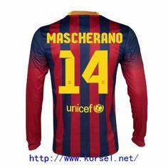 Maillot de foot Barcelone Domicile Manche Longue 2013 2014 (14 Mascherano) Rouge Bleu Pas Cher http://www.korsel.net/maillot-de-foot-barcelone-domicile-manche-longue-2013-2014-14-mascherano-rouge-bleu-pas-cher-p-3144.html