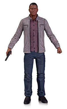 """Bring the heroes and villains from the popular Arrow and The Flash television series out of the small screen and into your home with these intricately designed action figures. John Diggle stands 6.75"""""""