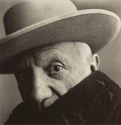 portrait de Pablo Picasso by Robert Mapplethorpe