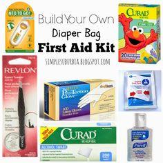 Diaper Bag First Aid Kit