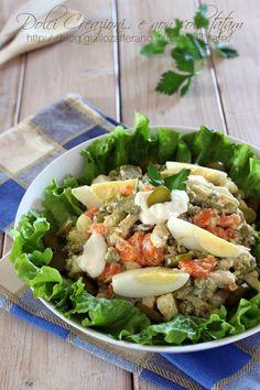 Insalata di pollo Chicken Salad, Cobb Salad, Carne, Food, Mayonnaise, Essen, Meals, Yemek, Eten