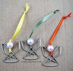 Paper clip Angels