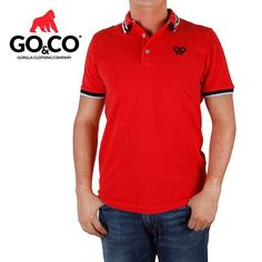 En #LaMarcaDelGorila más opciones con todo tu estilo. ¿Qué tal esta #PoloGoco roja? Pídela en www.gococlothing.com y recíbela sin costo de envío en la puerta de tu casa  TIENDAS:  Laureles: Av Jardín, Cra 73 #Circular 1–15  Envigado: Calle 30 sur # 45- 20  Guayabal: Cra 52 #29A111 Centro Mercantil  Bucaramanga: Cra 36 #41-47 local 2  #BeGoCo #Casualwear #Style #MenCollection #menstyleguide #polos #mensfashion #mensclothing #stylegram #fashiongram #algodón #cotton #hechoencolombia