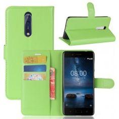 Nokia 8 vihreä puhelinlompakko.