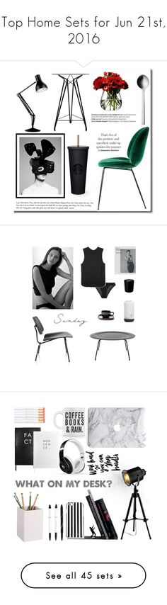 """Top Home Sets for Jun 21st, 2016"" by polyvore ❤ liked on Polyvore featuring interior, interiors, interior design, home, home decor, interior decorating, LSA International, Anglepoise, Nuans Design and Balmain"