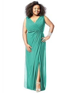 Lovelie Plus Size Bridesmaid Style 9006 http://www.dessy.com/dresses/bridesmaid/9006/