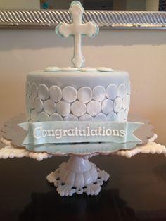Communion/ Baptism cake