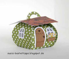 """Ein Haus für alle Fälle: Stampin' Up Framelits """"Zu Hause"""" mit Curvy Keepsake                                                                                                                                                     Mehr"""