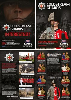 coldstream guards brochure Military Guard, Military Insignia, Military Photos, Military History, Best Army, British Army Uniform, British Armed Forces, Royal Guard, Army & Navy