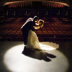 Wedding in a theater?!
