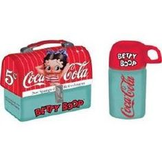 """Betty Boop Lunch Box"" Salt and Pepper Shaker Set by Vandor"