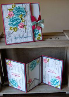 UK Independent Stampin' Up! Demonstrator - Julie Kettlewell: Stippled Blossoms