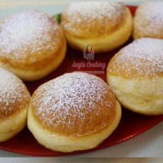 Reteta Gogosi Pufoase - Anyta Cooking Cake Hacks, Hamburger, Fondant, Deserts, Food And Drink, Sweets, Bread, Cakes, Cooking