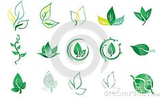 Vector Logo Elements Leaf - Download From Over 62 Million High Quality Stock Photos, Images, Vectors. Sign up for FREE today. Image: 95601305