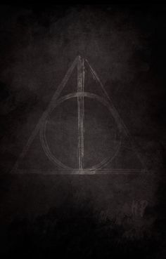 THE HARRY POTTER LOGO Art Print