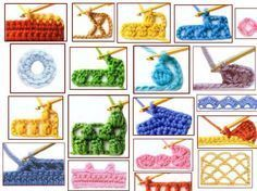 Nous avons mis en place, pour vous, ce guide de crochet où vous pouvez apprendre le symbole et le point de crochet d'environ 100 points, certains de base, d'autres plus compliqués. Ce sera votre me