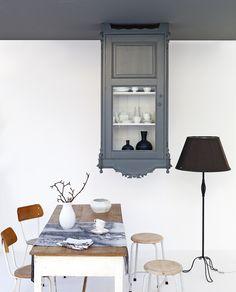 Zet je huis op z'n kop en verras jezelf met een volle servieskast aan het plafond!
