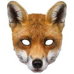 masque de renard, masques d'animaux Masque de Renard