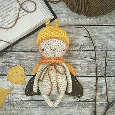 MOTH crochet pattern by littleowletshop on Etsy