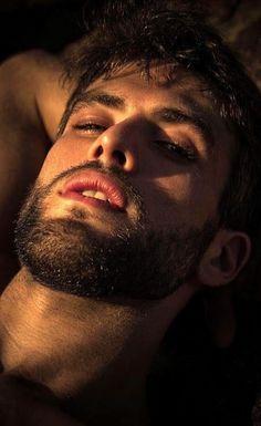 Beautiful Men Faces, Beautiful Lips, Face Men, Male Face, Hairy Men, Bearded Men, Gabriel, Greek Men, Short Beard