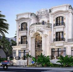 Dynasty Luxury Homes Classic House Design, Dream Home Design, Modern House Design, Dream Mansion, Luxury Homes Dream Houses, Modern Mansion, Classic Architecture, Architecture Design, Dream House Exterior