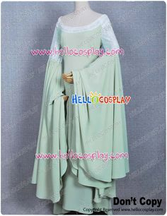 The Lord of the Rings Arwen Green Dress - Cosplay    $139