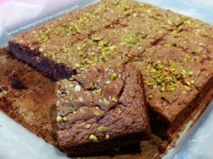 Brownies con pistacchi http://www.theempirestatecooking.com/brownies-con-pistacchi/