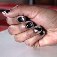 New Years nail design! #themattestandard