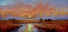 Hagan Fine Art Dee  Beard Dean Sunset on the Island