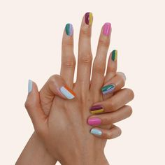 Gel Manicure At Home, Nail Manicure, Gel Nails, Nail Design Stiletto, Nail Design Glitter, Funky Nails, Trendy Nails, Cute Acrylic Nails, Cute Nails