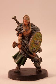 Blood Rage - Serpent Clan - Shield Maiden