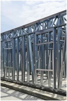 LGS construction can offer a much more predictable construction schedule and less on-site cost than traditional construction methods. For example, as the material is lightweight, no heavy lifting equipment is needed on-site, frames, trusses and joists can typically be carried into place by on-site labor. Frames are made to precise dimensions meaning pre-made windows, doors and bathrooms will fit perfectly and quickly reducing engineering cost and minimizing room for error on-site. Metal Building Homes, Building A House, Metal Buildings, Schedule, Bathrooms, Villa, Engineering, Frames, Construction