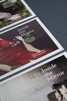 """Inside the Mirror"" - Monia Merlo photographer, flyer — hstudio"